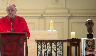 Cardinal Nichols preaching